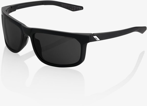 100% Hakan Sunglasses Color | Lens: Soft Tact Black | Grey PEAKPOLAR