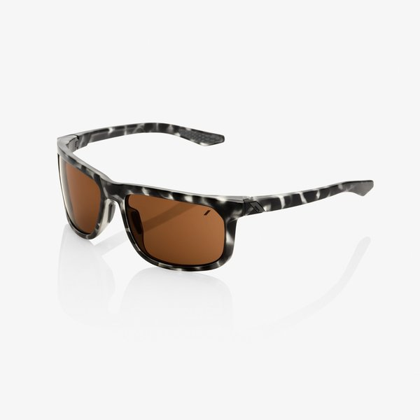 100% Hakan Sunglasses Color | Lens: Matte Black Havana | Bronze