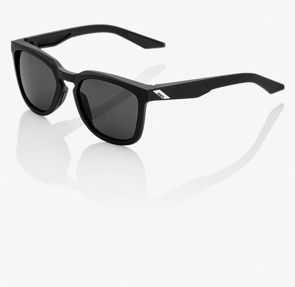 100% Hudson Sunglasses Color | Lens: Soft Tact Black | Smoke