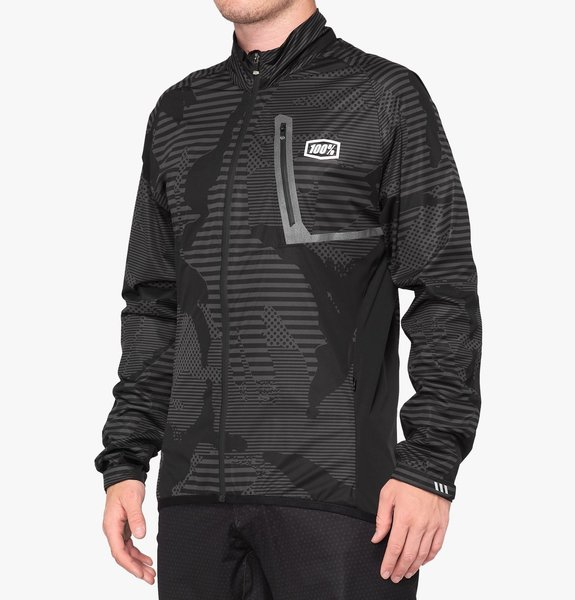 100% Hydromatic Jacket Color: Black Camo