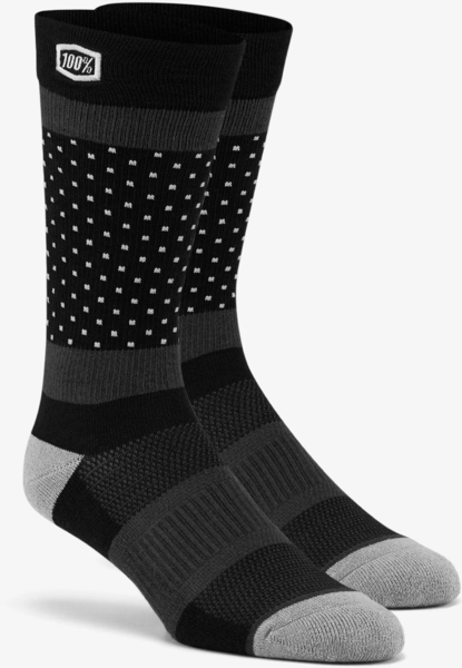 100% Opposition Casual Socks Color: Black