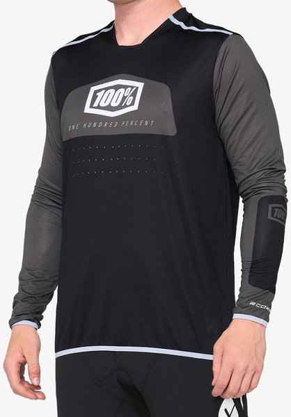 100% R-Core X Jersey Color: Black/White