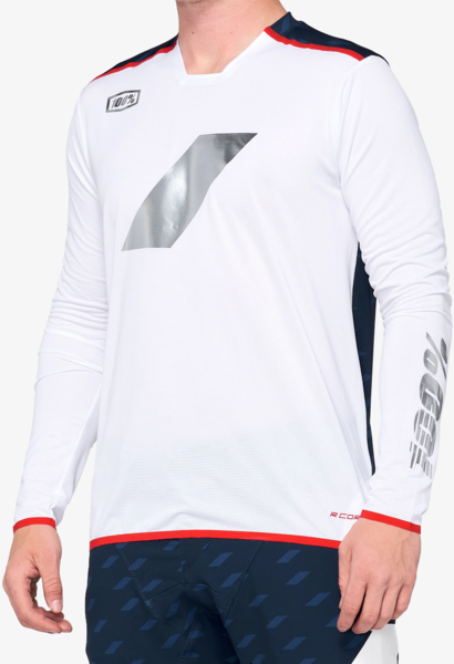 100% R-Core X Limited Edition Jersey Color: Navy/White