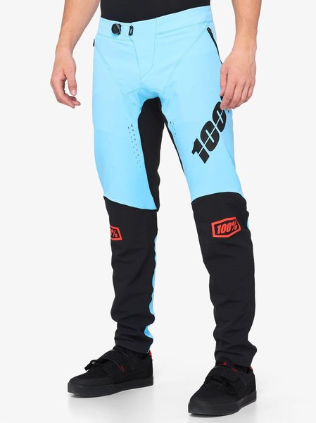 100% R-Core X Pants Color: Light Blue/Black