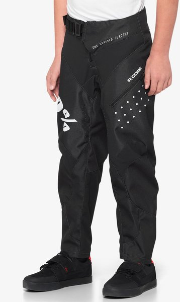 100% R-Core Youth Pants Color: Black