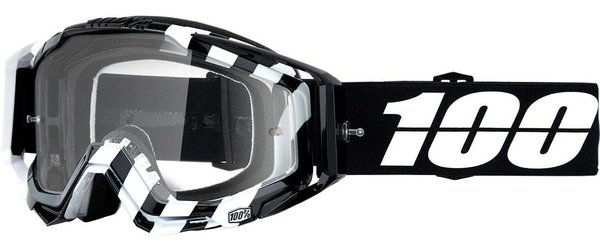 100% Racecraft Goggles Color | Lens: Alta | Clear