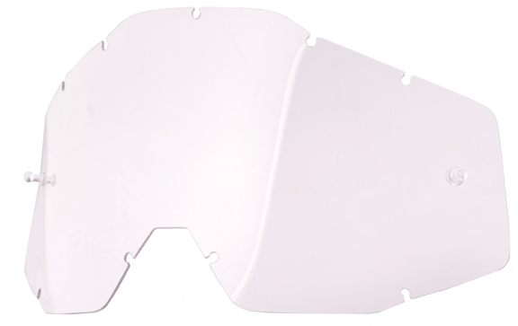 100% Replacement Single Lens Lens: Clear