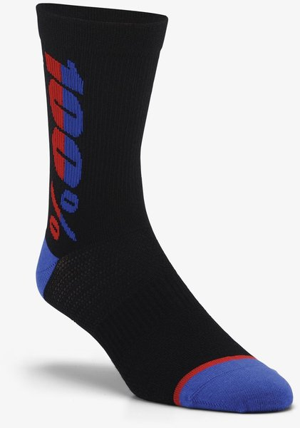 100% Rhythm Merino Performance Socks Color: Black