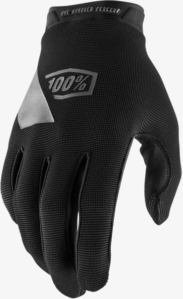 100% Ridecamp Gloves Color: Black