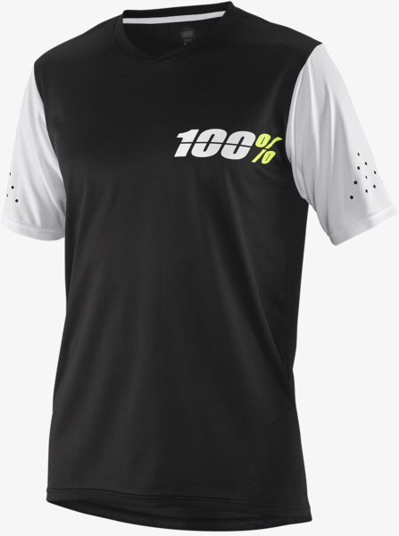 100% Ridecamp Jersey Color: Black