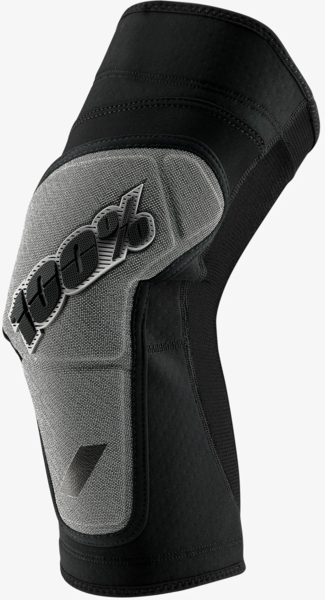100% Ridecamp Knee Guard Color: Black/Grey