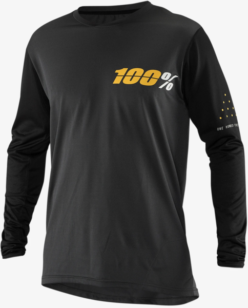 100% Ridecamp Long Sleeve Jersey Color: Charcoal