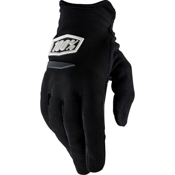 100% Ridecamp Women's Gloves Color: Black