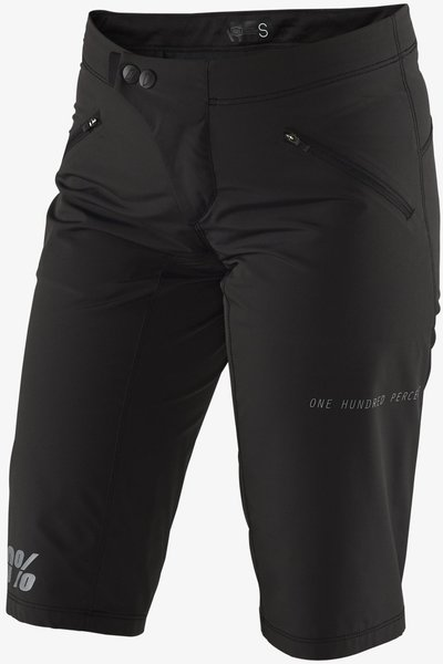 100% Ridecamp Women's Shorts Color: Black
