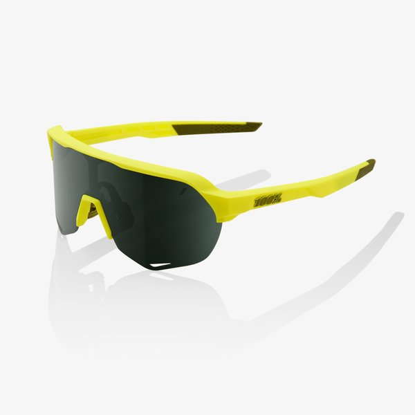 100% S2 Sunglasses Color | Lens: Soft Tact Banana | Grey Green|Clear