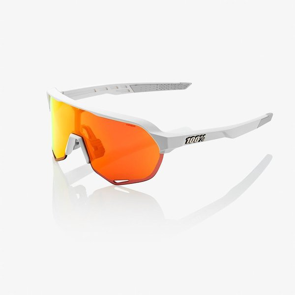 100% S2 Sunglasses Color | Lens: Soft Tact Off White | HiPER Red Multilayer Mirror|Clear
