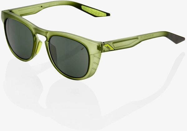 100% Slent Sunglasses Color | Lens: Olive Slate | Grey Green
