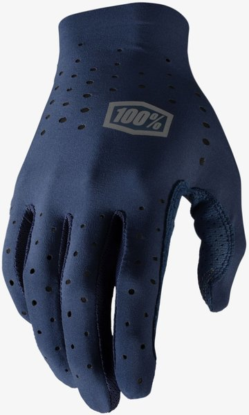 100% Sling Long Finger Glove Color: Navy
