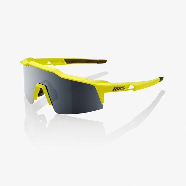100% Speedcraft SL Color | Lens: Soft Tact Banana | Black Mirror|Clear