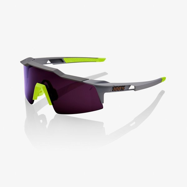 100% Speedcraft SL Color | Lens: Soft Tact Midnight Mauve | Purple|Clear