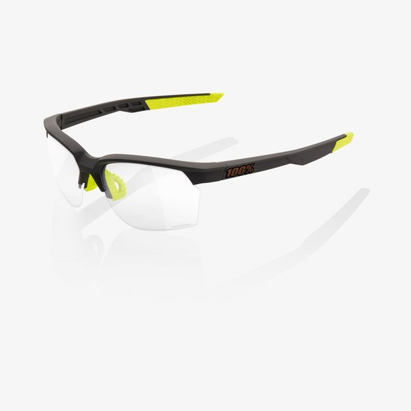 100% Sportcoupe Sunglasses Color | Lens: Soft Tact Cool Grey | Photochromic|Clear