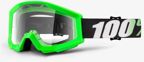 100% Strata Goggles Color | Lens: Arkon | Clear