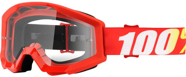 100% Strata Goggles Color | Lens: Furnace | Clear