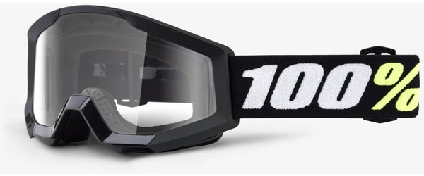 100% Strata Mini Goggles Color: Black