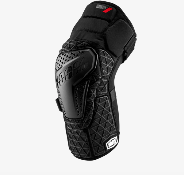 100% Surpass Knee Guard Color: Black