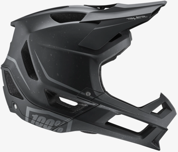 100% Trajecta Helmet Color: Black