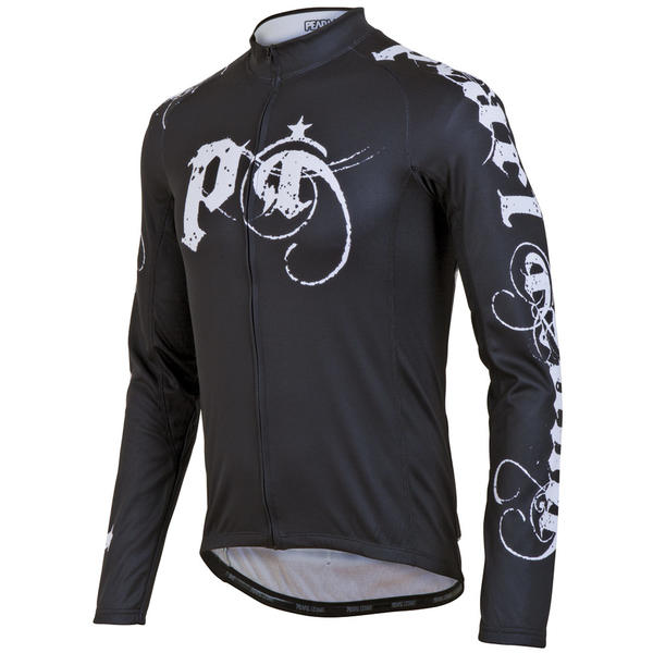 Pearl Izumi Elite Thermal LTD Jersey Color: Metal Black