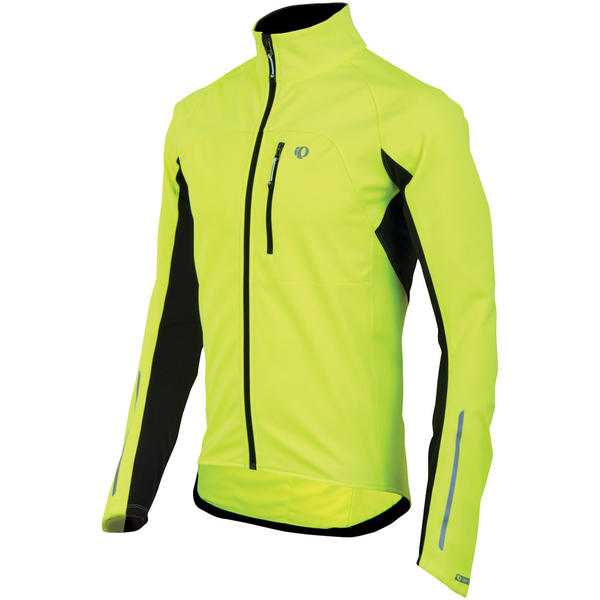 Pearl Izumi Elite Softshell Jacket Color: Screaming Yellow
