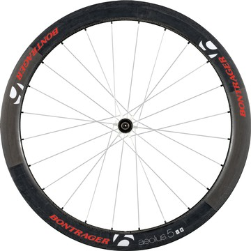 Bontrager Aeolus 5 D3 Rear Wheel (Clincher) Color: Red