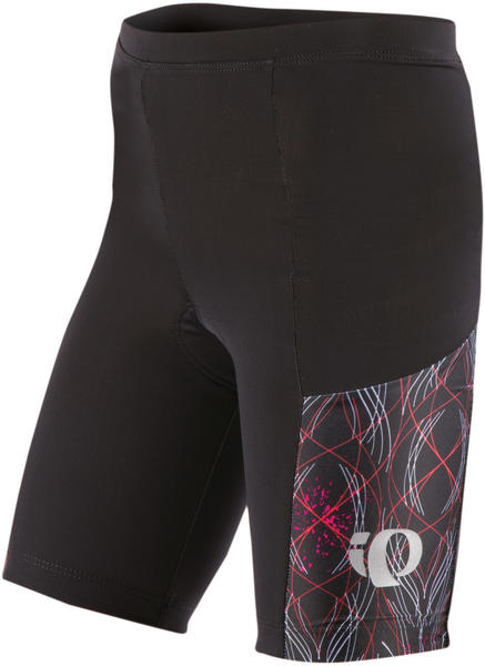 Pearl Izumi Junior Tri Shorts Color: Pink Punch Pinstripe