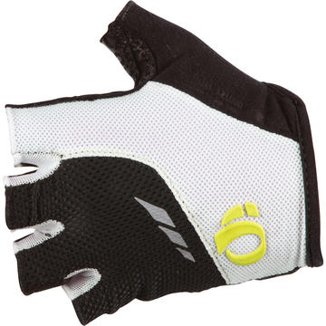 Pearl Izumi Women's P.R.O. Pittards Gel Gloves Color: White/Lime