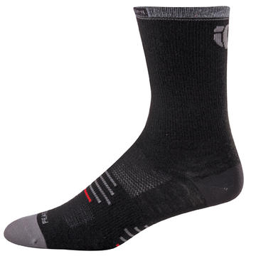 Pearl Izumi Elite Tall Wool Socks Color: Black