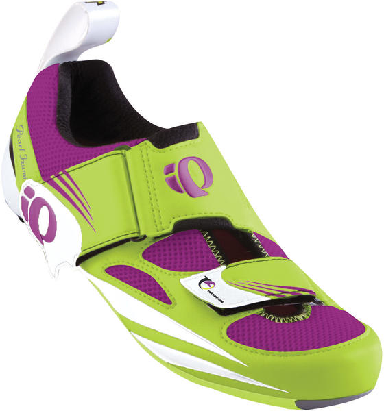 Pearl Izumi Tri Fly IV Carbon Shoes - Women's Color: Lime/Orchid