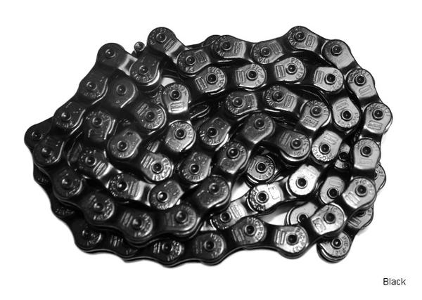 1664 BMX Ballin' Half Link Chain Color: Painted Black