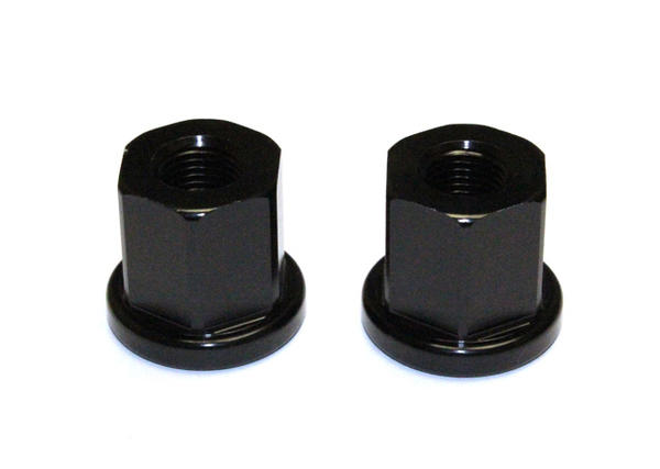 1664 BMX Deez Nuts, Axle Nuts Color: Black