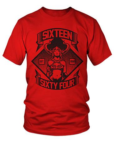 1664 BMX Heavy Pedal T-shirt