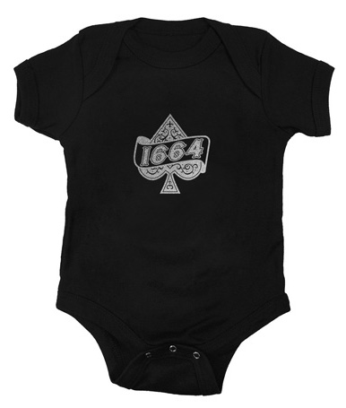 1664 BMX Ace of Spades Infant Onesie
