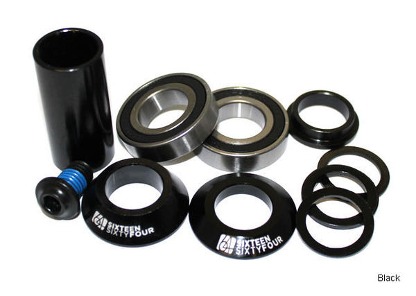 1664 BMX Spanish Bottom Bracket Color: Black