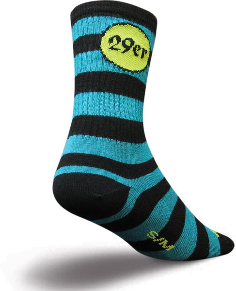 SockGuy 29er Wool Socks Color: 29er
