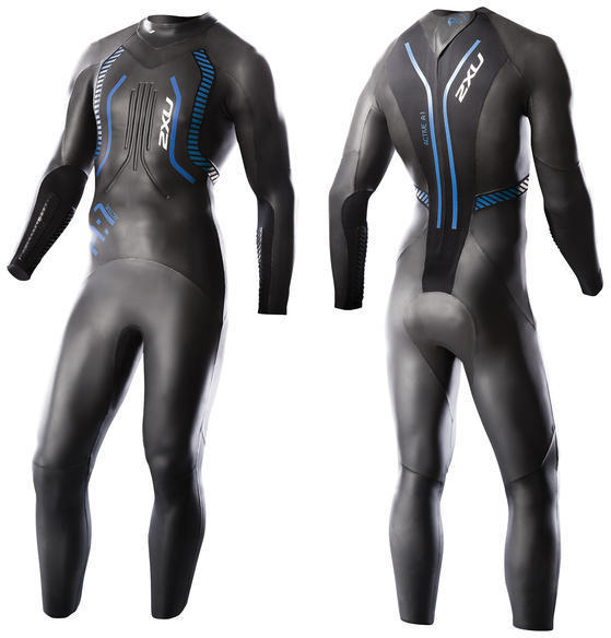 2XU A:1 Active Wetsuit Color: Black/Cobalt Blue