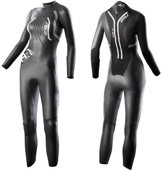 2XU A:1 Active Wetsuit - Women's Color: Black/White