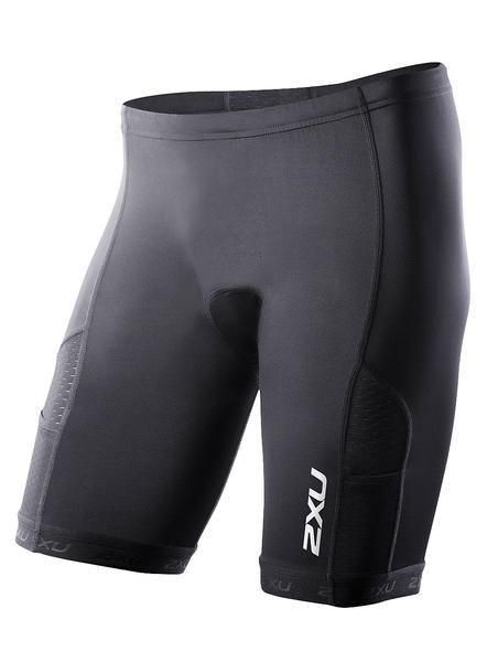 "2XU Comp Tri Shorts 7"" Color: Black"