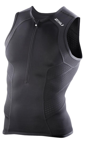 2XU Comp Tri Singlet Color: Black