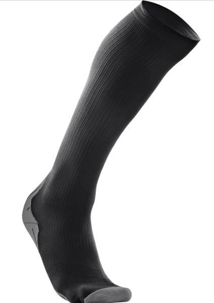 2XU Compression Socks for Recovery Color: Black/Black
