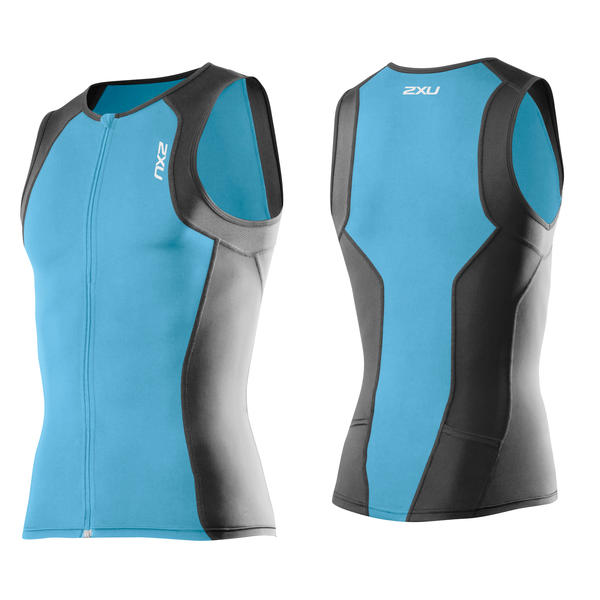 2XU G:2 Active Tri Singlet Color: Amalfi/Charcoal