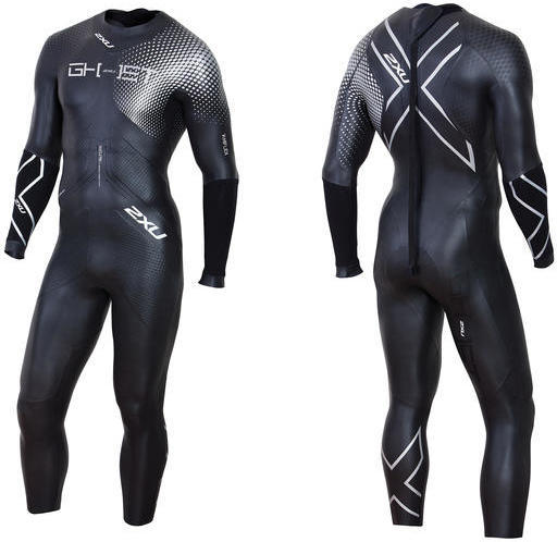 2XU GHST Wetsuit Color: Black/Silver